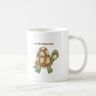 I Love My Mobile Home Turtle Coffee Mugs