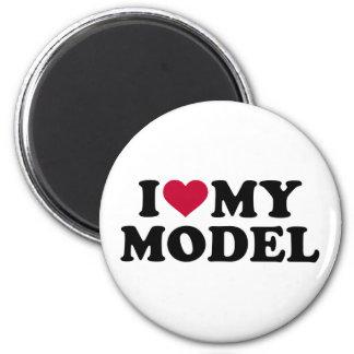 I love my model magnet