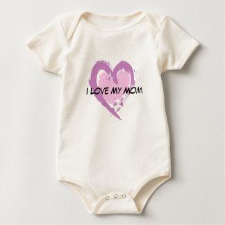 I love my Mom Baby Bodysuit