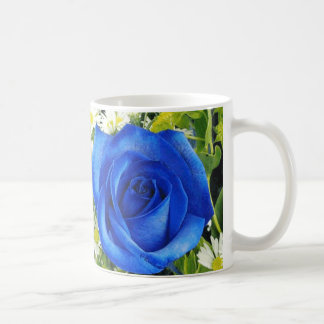 I Love My Mom - Blue Rose Classic White Coffee Mug