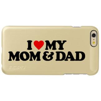 I LOVE MY MOM & DAD INCIPIO FEATHER® SHINE iPhone 6 PLUS CASE