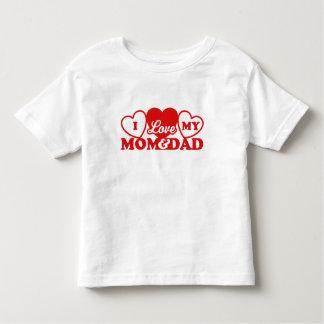 I Love My Mom & Dad Tee Shirt