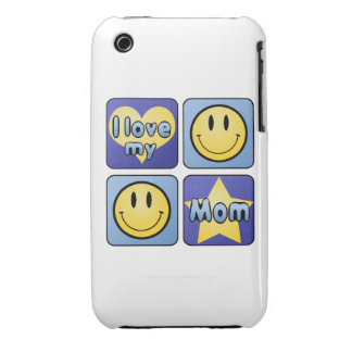 I Love My Mom iPhone 3 Cover