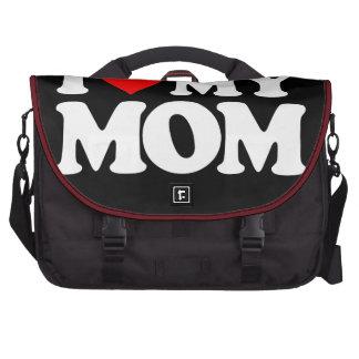 I LOVE MY MOM LAPTOP COMMUTER BAG
