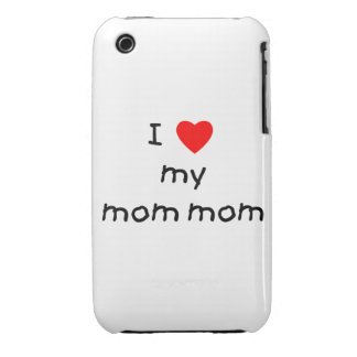 I love my mom mom iPhone 3 Case-Mate case