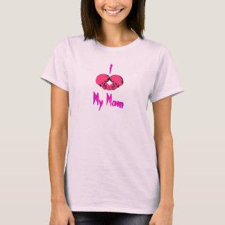 I LOVE MY MOM / MOMMY'S LITTLE ROCKER! T-Shirt