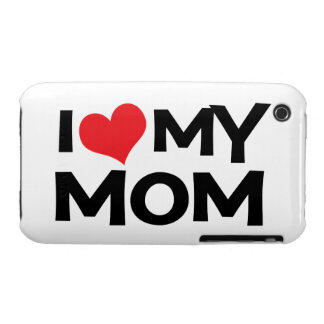 I Love My Mom Mother's Day iPhone 3G Case-Mate