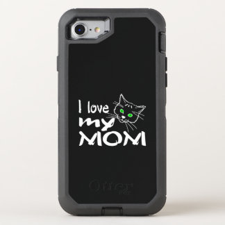 I Love My Mom OtterBox Defender iPhone 7 Case