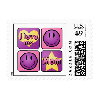 I Love My Mom Postage