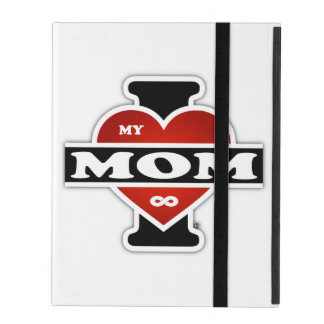 I Love My Mom To Infinity iPad Case