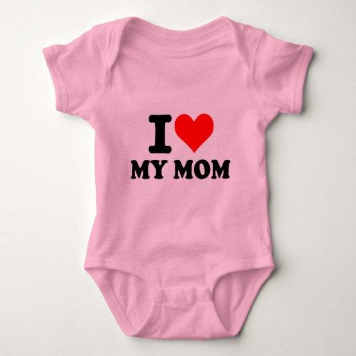 I love my mom tshirt