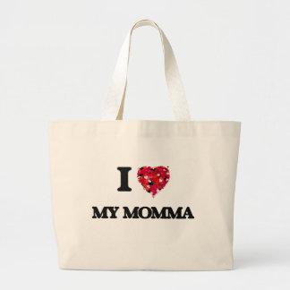 I Love My Momma Jumbo Tote Bag