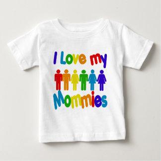 I Love my Mommies Baby T-Shirt