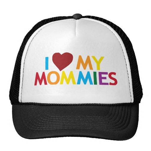 I love my Mommies Trucker Hat