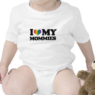 I love my mommies t-shirt