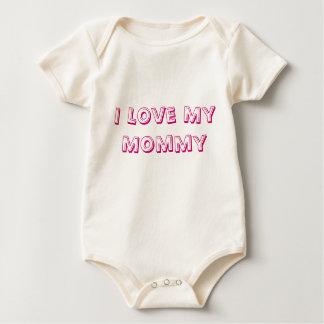 I Love My Mommy Baby Cloths Baby Bodysuit