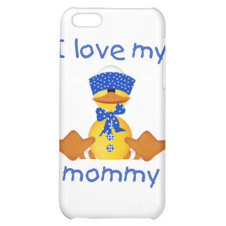 I love my mommy (boy duck) iPhone 5C case