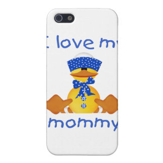 I love my mommy (boy duck) iPhone 5 cover