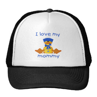 I love my mommy (boy duck) trucker hat