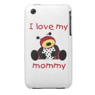 I love my mommy (boy ladybug) iPhone 3 Case-Mate cases