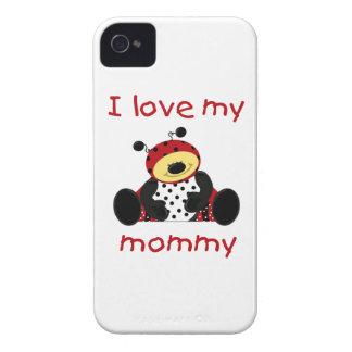I love my mommy (boy ladybug) iPhone 4 Case-Mate cases