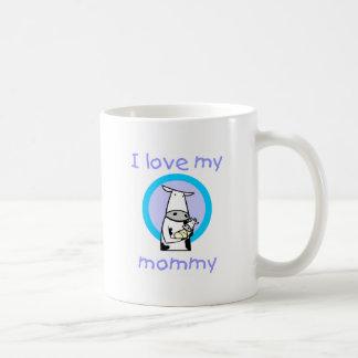 I love my mommy (cow) coffee mug