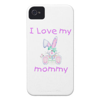 I love my mommy (girl bunny) Case-Mate iPhone 4 case