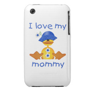 I love my mommy (girl duck) iPhone 3 Case-Mate case