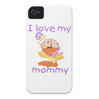 I love my mommy (girl ducky) iPhone 4 cover