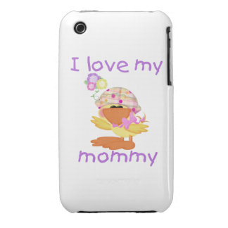 I love my mommy (girl ducky) iPhone 3 cases