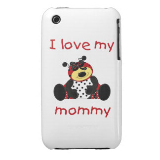 I love my mommy (girl ladybug) iPhone 3 covers