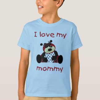 I love my mommy (girl ladybug) T-Shirt