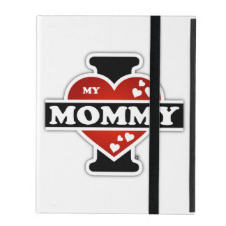 I Love My Mommy Heartbeats iPad Cover