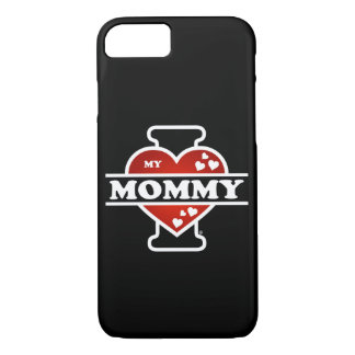 I Love My Mommy Heartbeats iPhone 8/7 Case