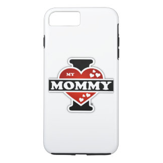 I Love My Mommy Heartbeats iPhone 8 Plus/7 Plus Case