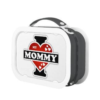 I Love My Mommy Heartbeats Lunch Box