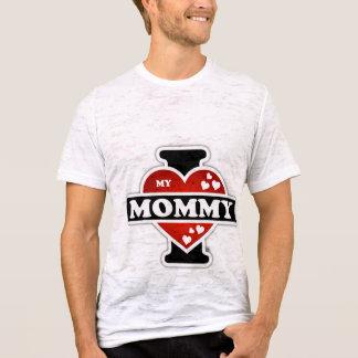 I Love My Mommy Heartbeats T-Shirt