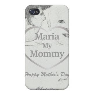 I Love My Mommy iPad Case4-Customize Cases For iPhone 4