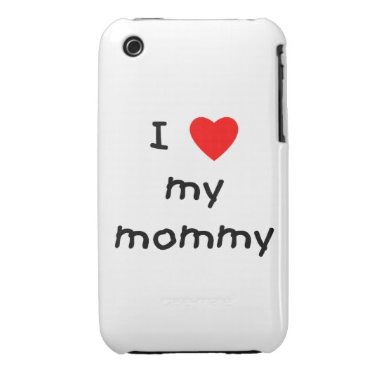 I love my mommy iPhone 3 case