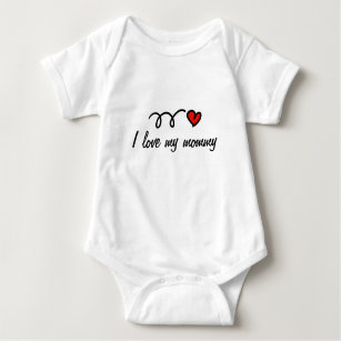 Mommy Baby Clothes Shoes Zazzle