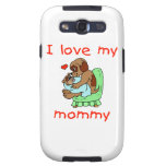 I love my mommy (puppies) samsung galaxy s3 case