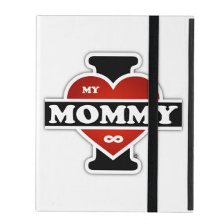 I Love My Mommy To Infinity iPad Case