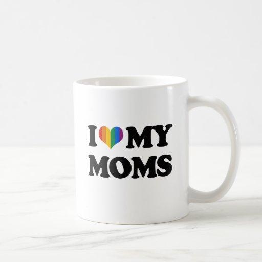 I LOVE MY MOMS COFFEE MUGS