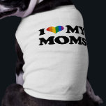 """I LOVE MY MOMS TEE<br><div class=""""desc"""">Gay Humor,  Lesbian Humor,  and Pride Gear,  GLBT/LGBT T-shirts,  hoodies,  bumperstickers,  buttons,  signs,  posters,  and gay pride gifts from: http://www.GLBTshirts.com</div>"""