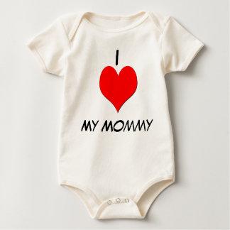 I love my momy baby bodysuit