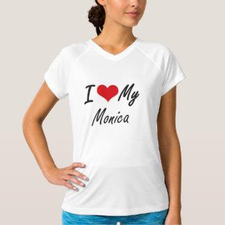 I love my Monica T-shirts