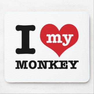 I love my monkey mouse pad