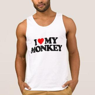 I LOVE MY MONKEY TANK TOP