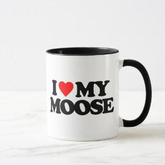 I LOVE MY MOOSE MUG