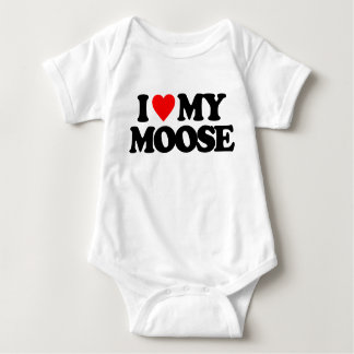 I LOVE MY MOOSE T SHIRTS